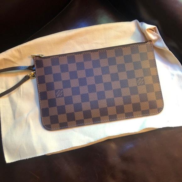 Louis Vuitton Handbags - SOLD Louis Vuitton neverfull pouch